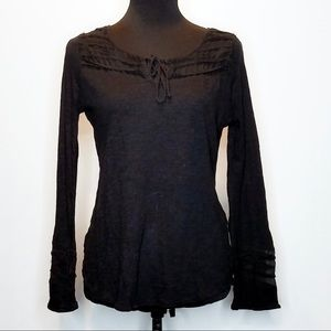 Lucky Brand Long Sleeve Blouse.        062